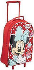 Walt Disney Polka trolley con punti Minnie Mouse - trolley con manico allungabile.